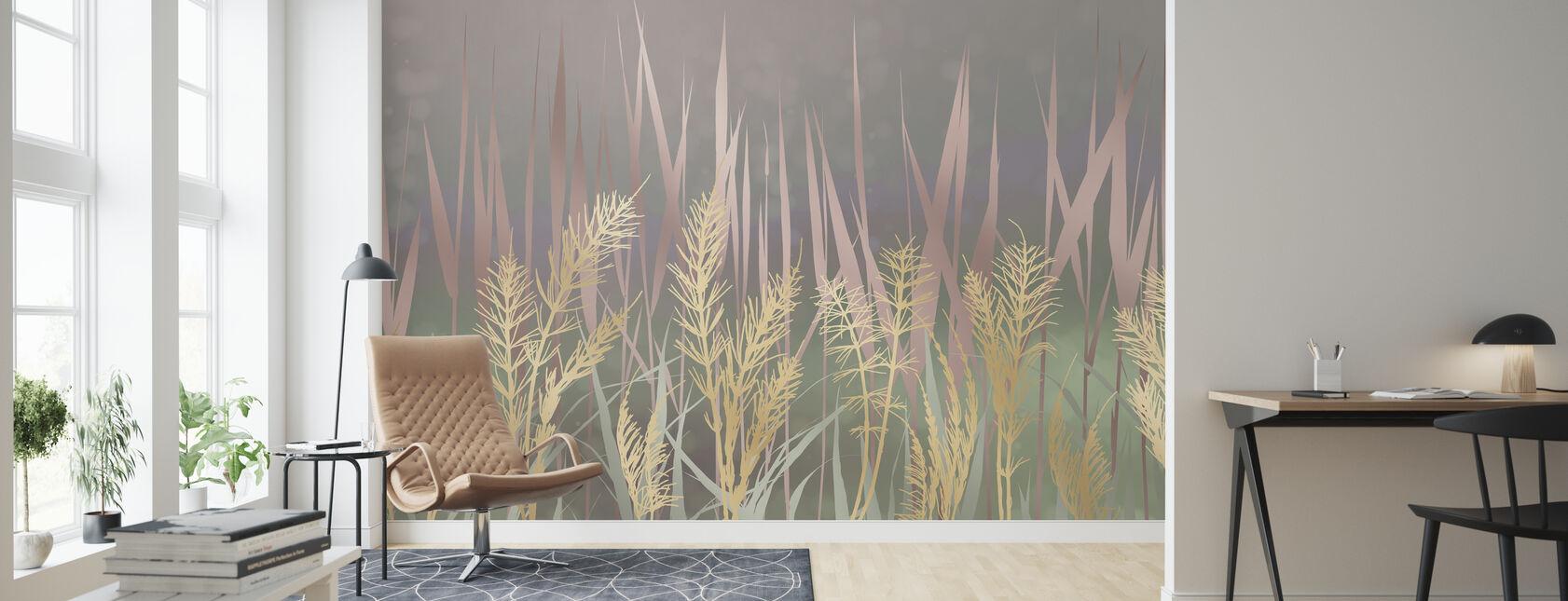 Lightening Grass II - Wallpaper - Living Room