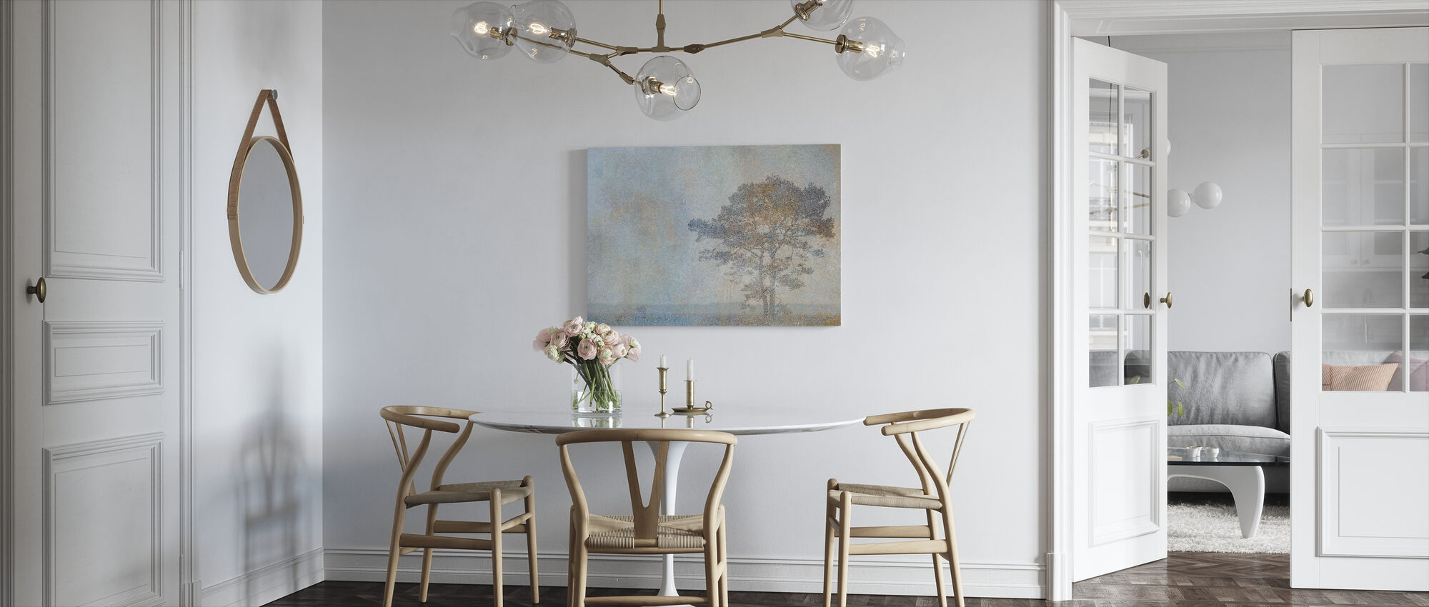 Nimbus - Canvas print - Keuken