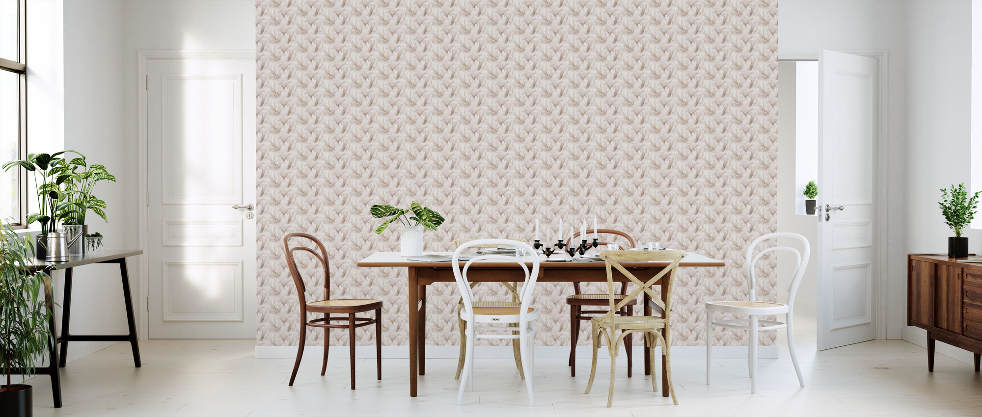 Paper Tulips - Wallpaper - Kitchen