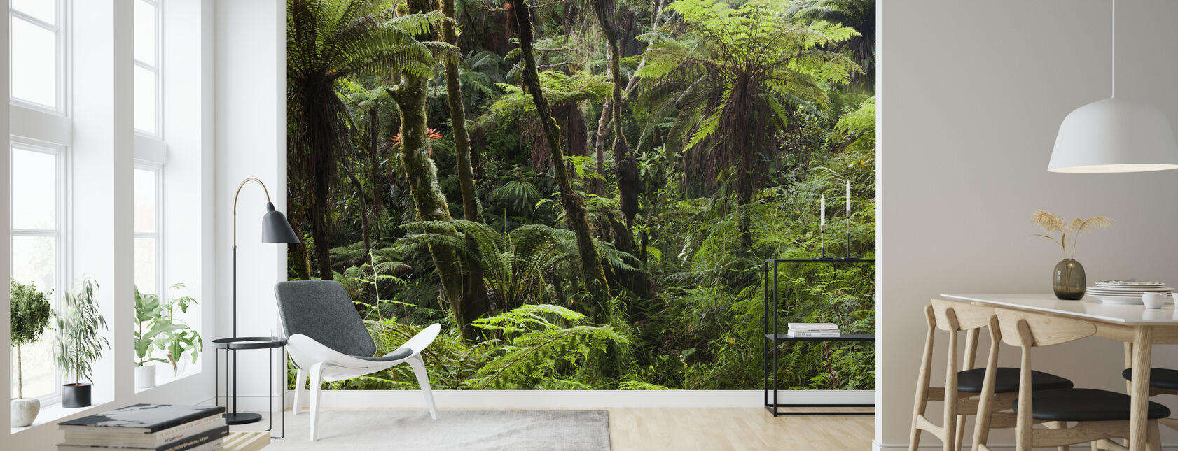 Cloud Forest - Wallpaper - Living Room