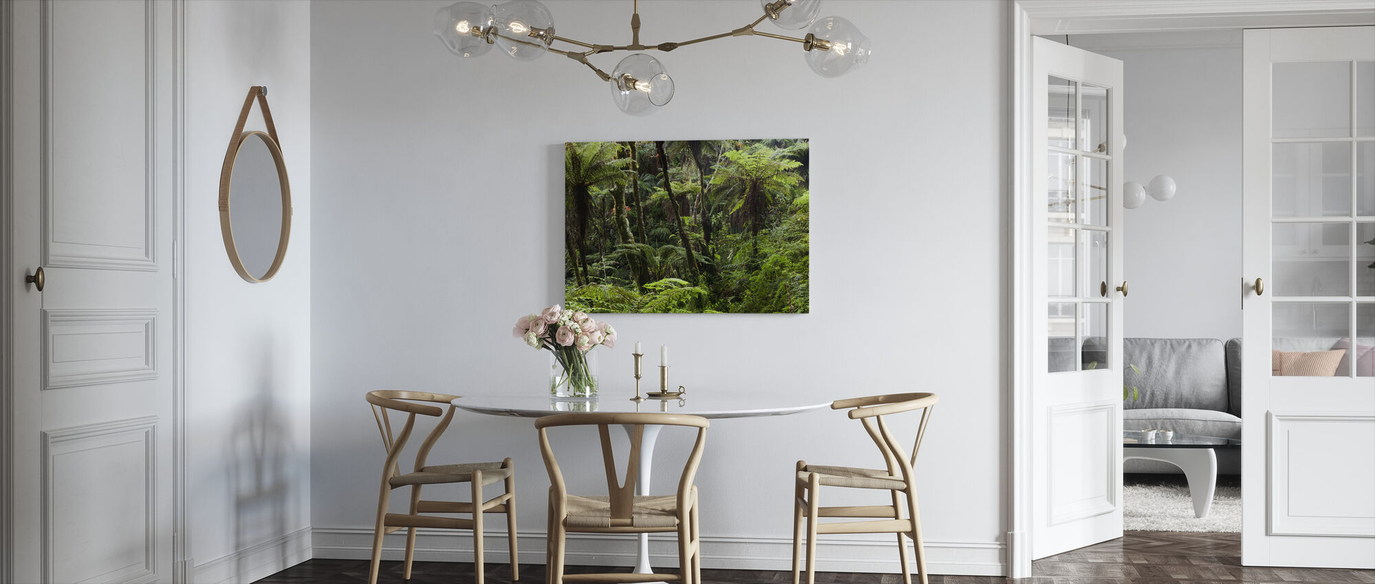 Cloud Forest - Canvas print - Kitchen
