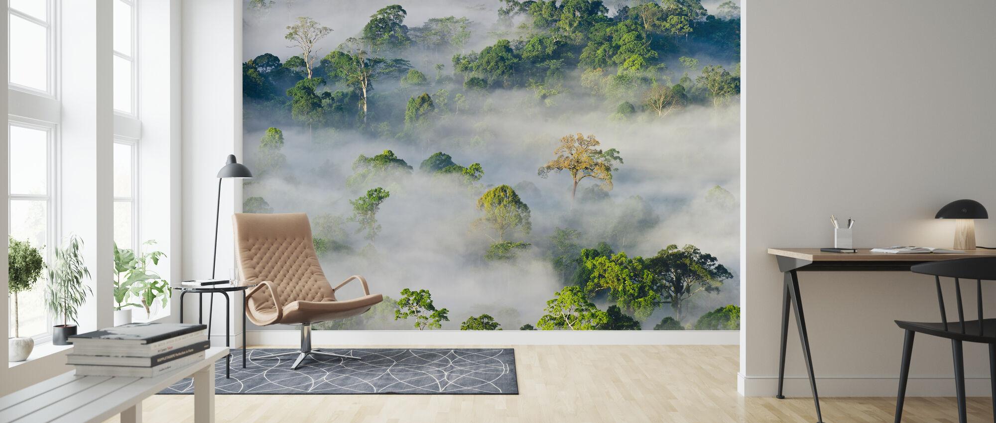 Forêt pluviale diptérocarpe des basses terres - Papier peint - Salle à manger