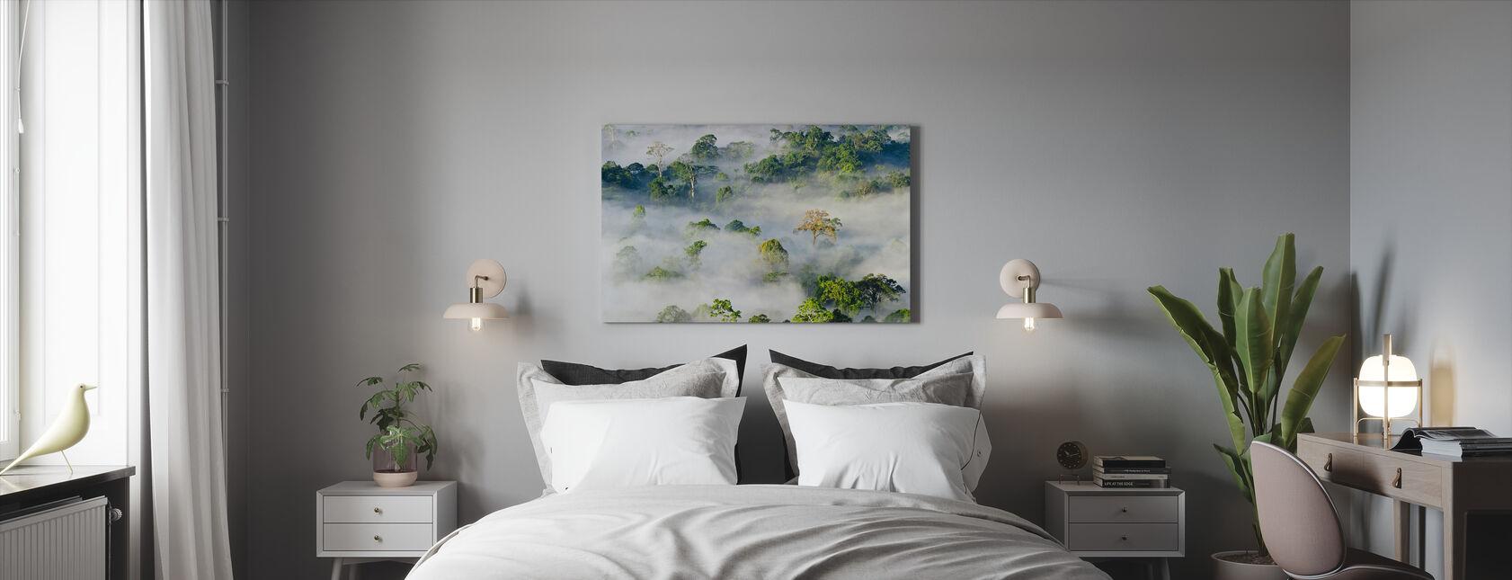 Lowland Dipterocarp Regenwoud - Canvas print - Slaapkamer
