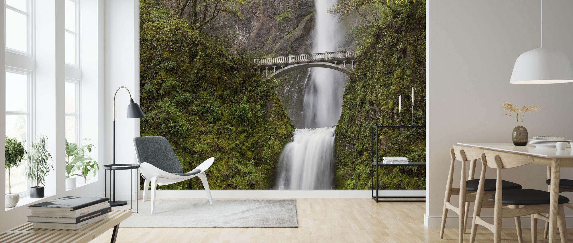 Multnomah Falls - Wallpaper - Living Room