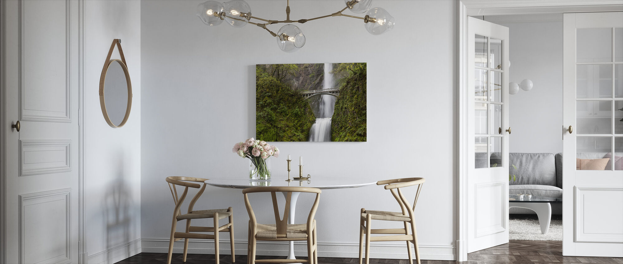 Multnomah Falls - Canvas print - Kitchen