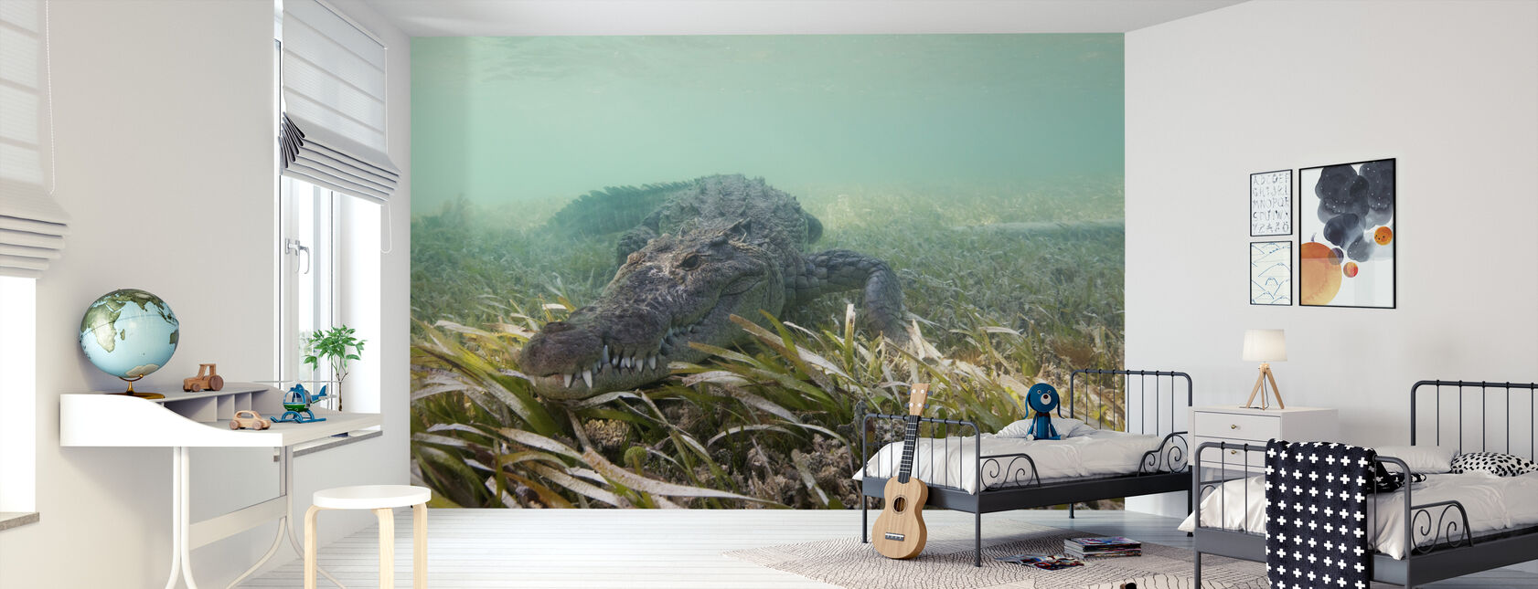 American Crocodile - Wallpaper - Kids Room