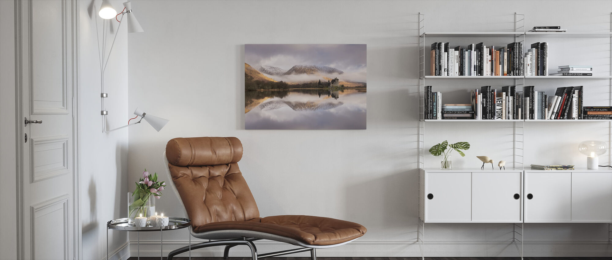 Kilchurn Castle - Canvas print - Living Room