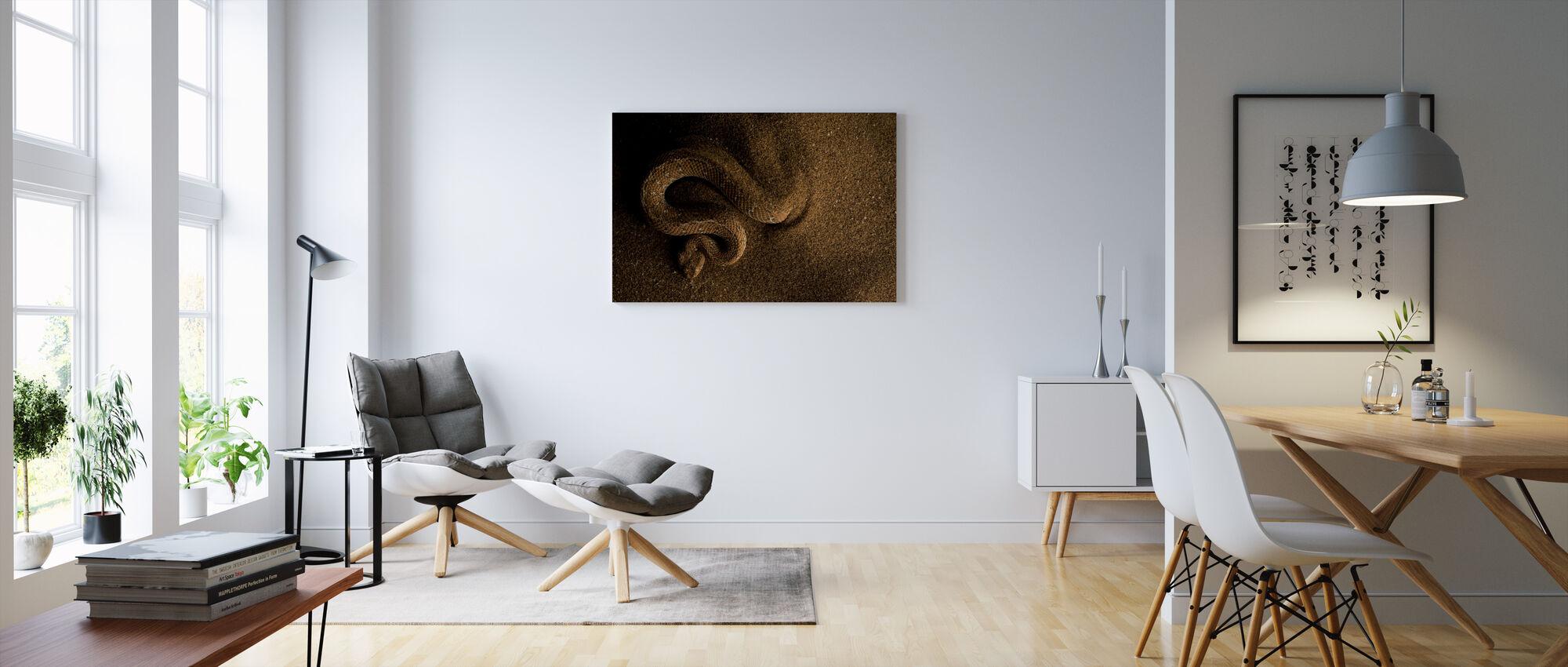 Peringuey's Adder - Canvas print - Living Room