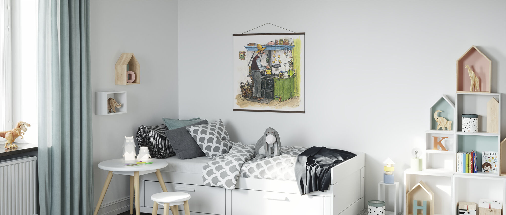 Findus moves out - Poster - Kids Room