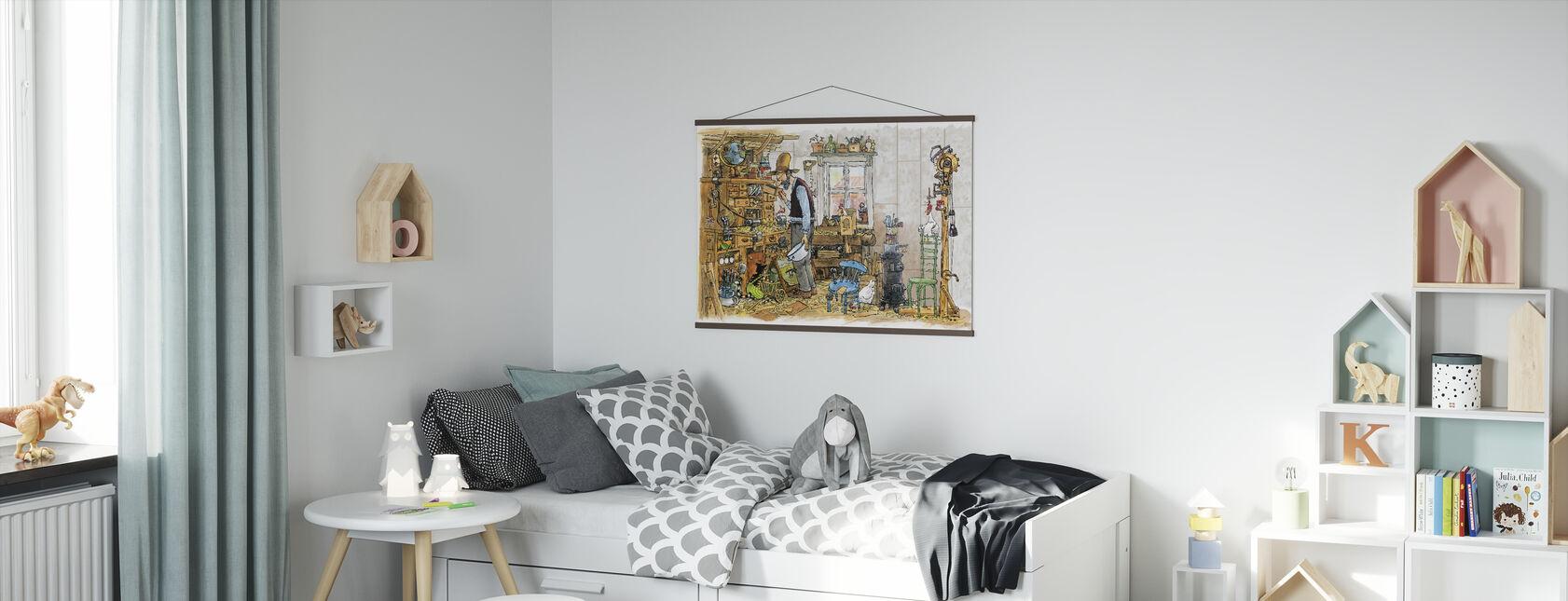 Snickarboden - Poster - Barnrum