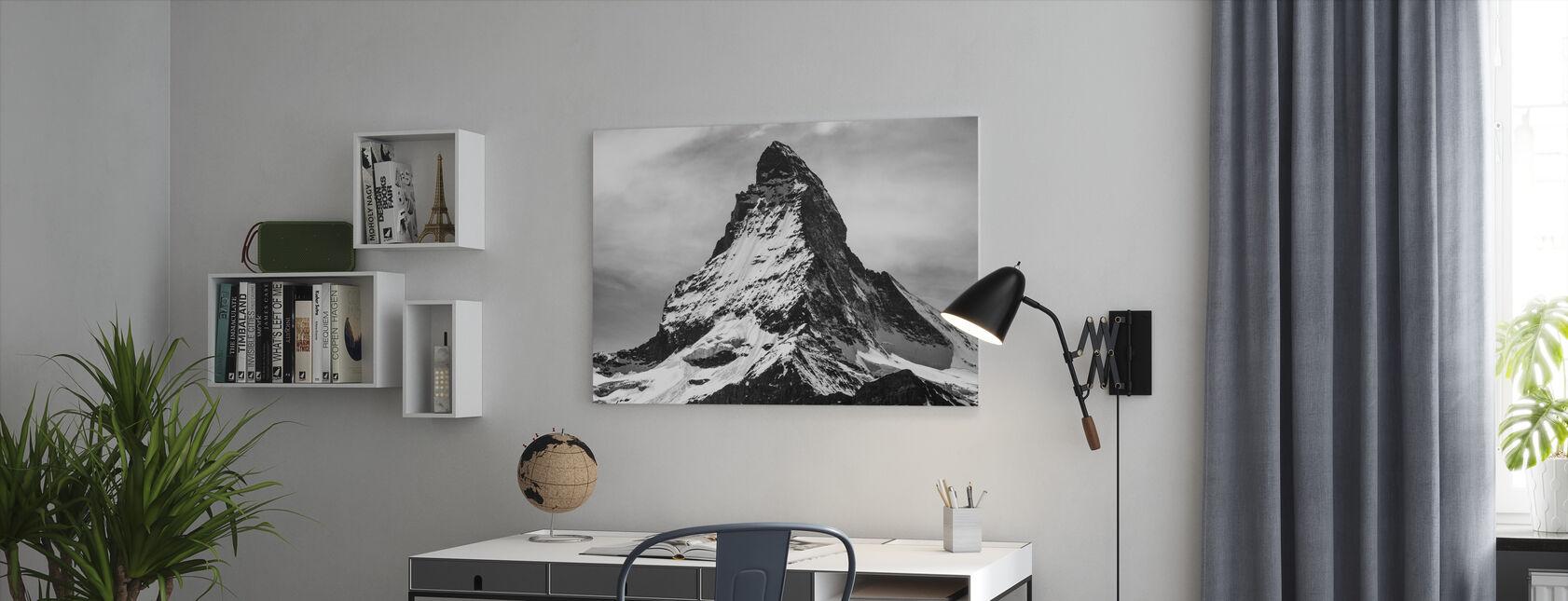 Berggipfel - Leinwandbild - Büro