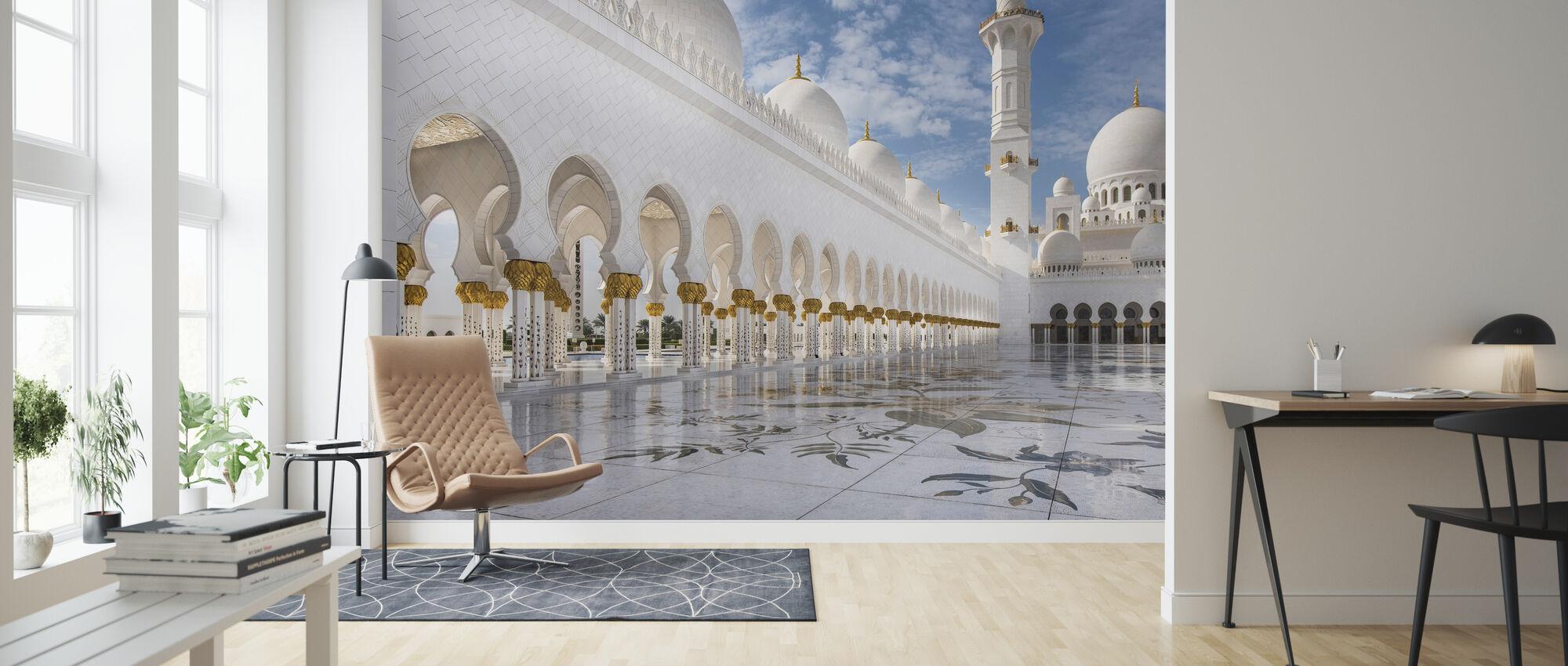 Orient Mosque - Wallpaper - Living Room