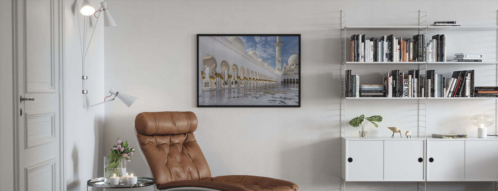 Orient Mosque - Framed print - Living Room