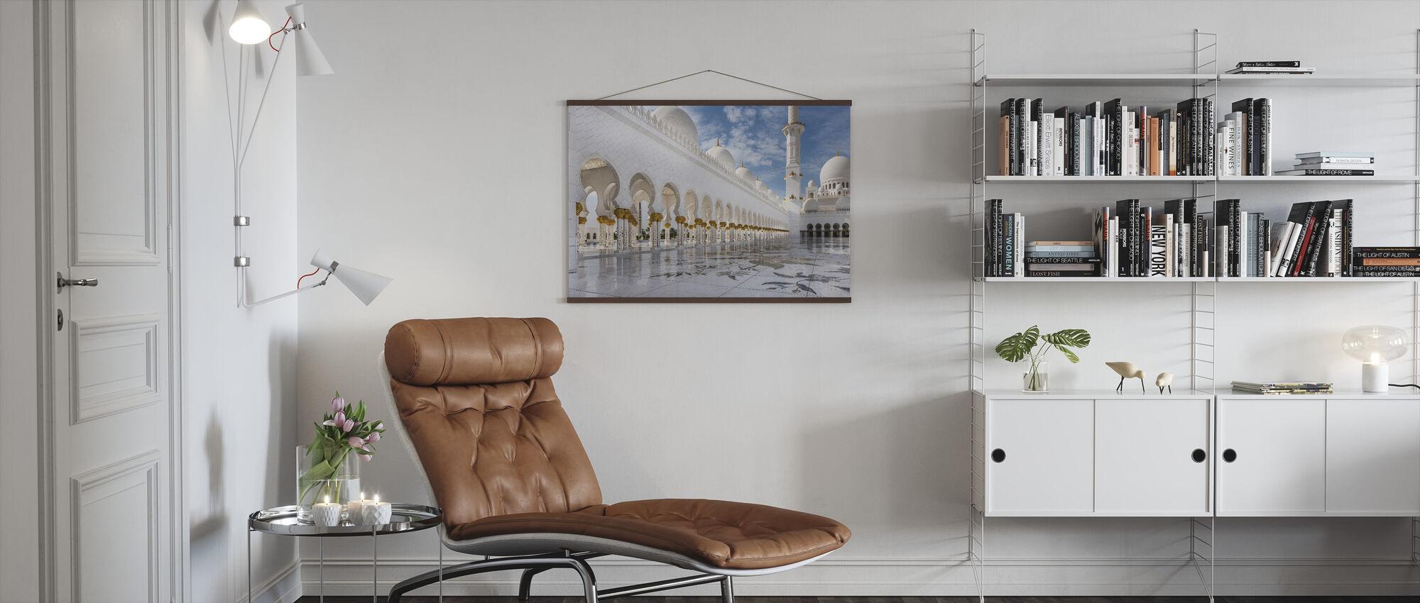Orient Mosque - Poster - Living Room