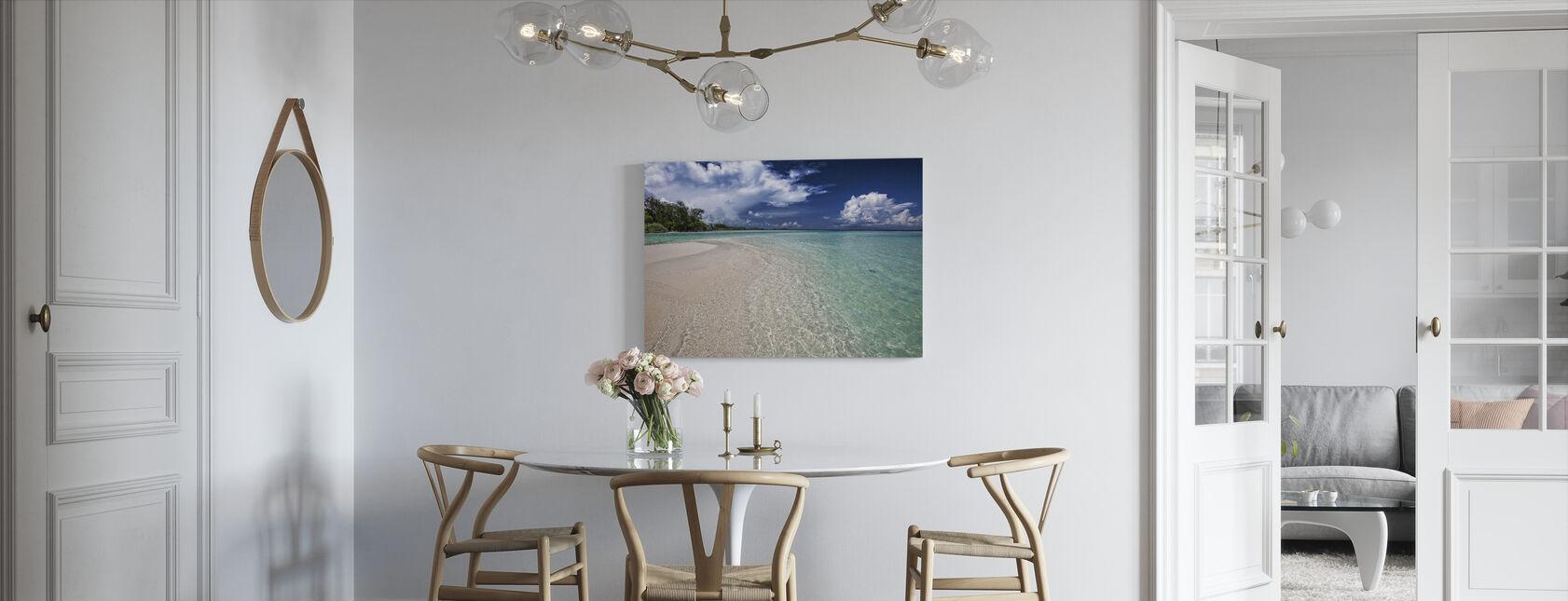 White Sand Bar - Canvas print - Kitchen