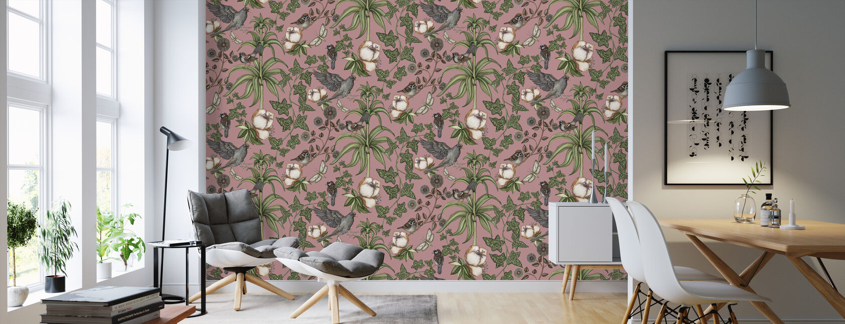 Ivy Rose - Wallpaper - Living Room
