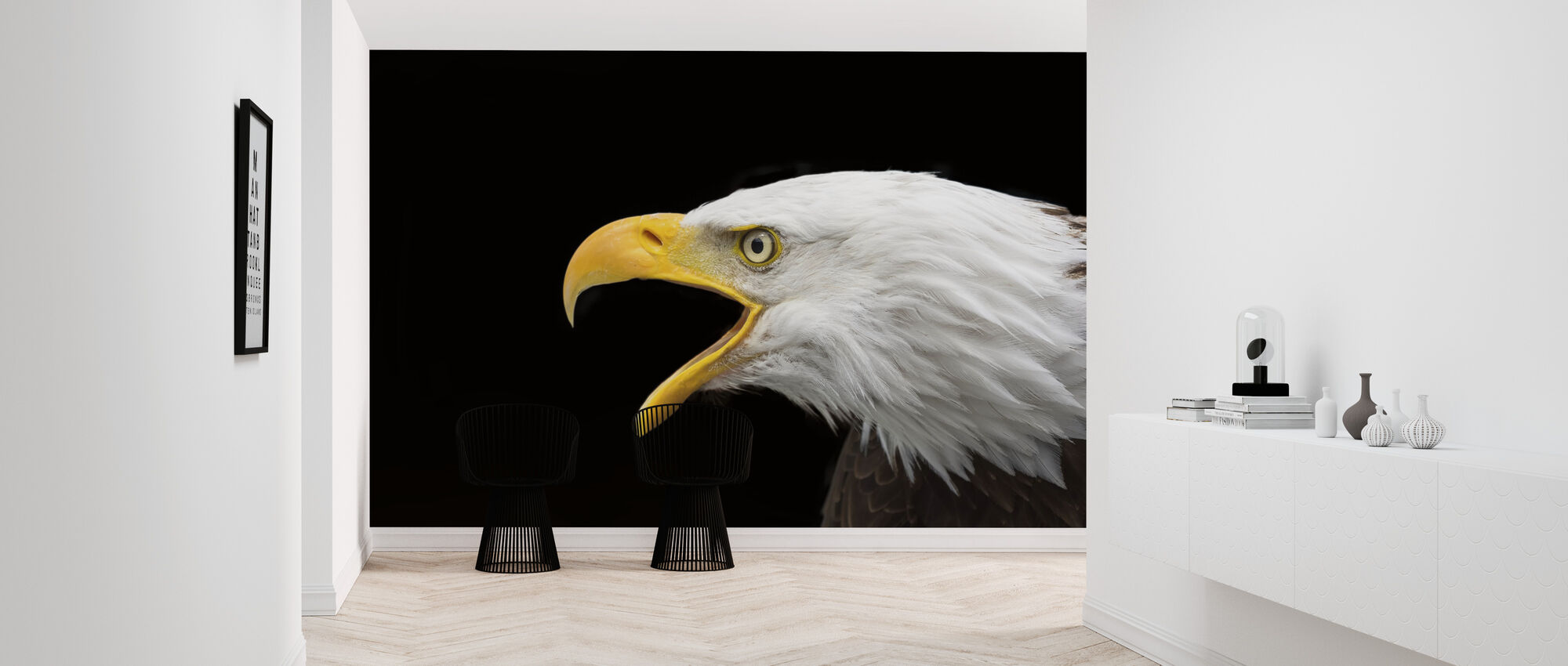 Bald Eagle - Wallpaper - Hallway