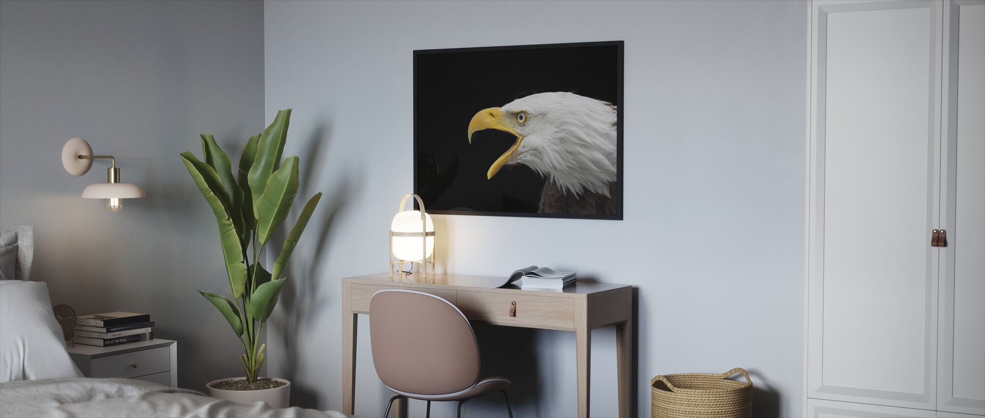 Bald Eagle - Framed print - Bedroom