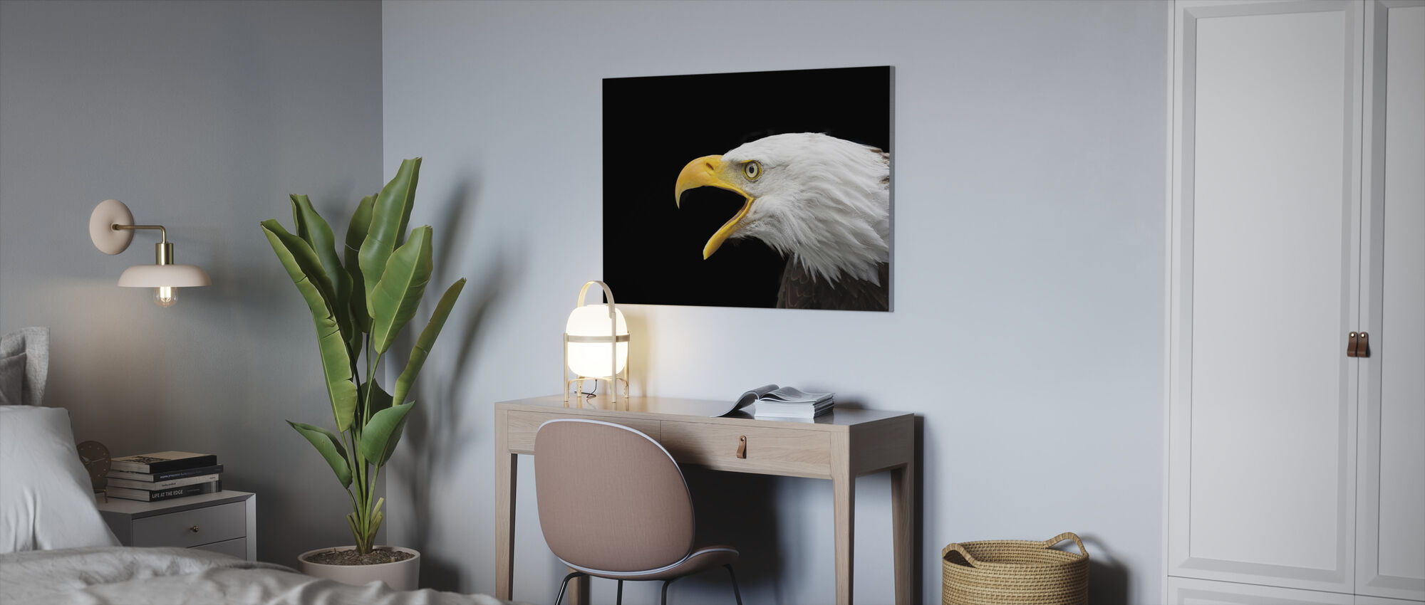 Bald Eagle - Canvas print - Office