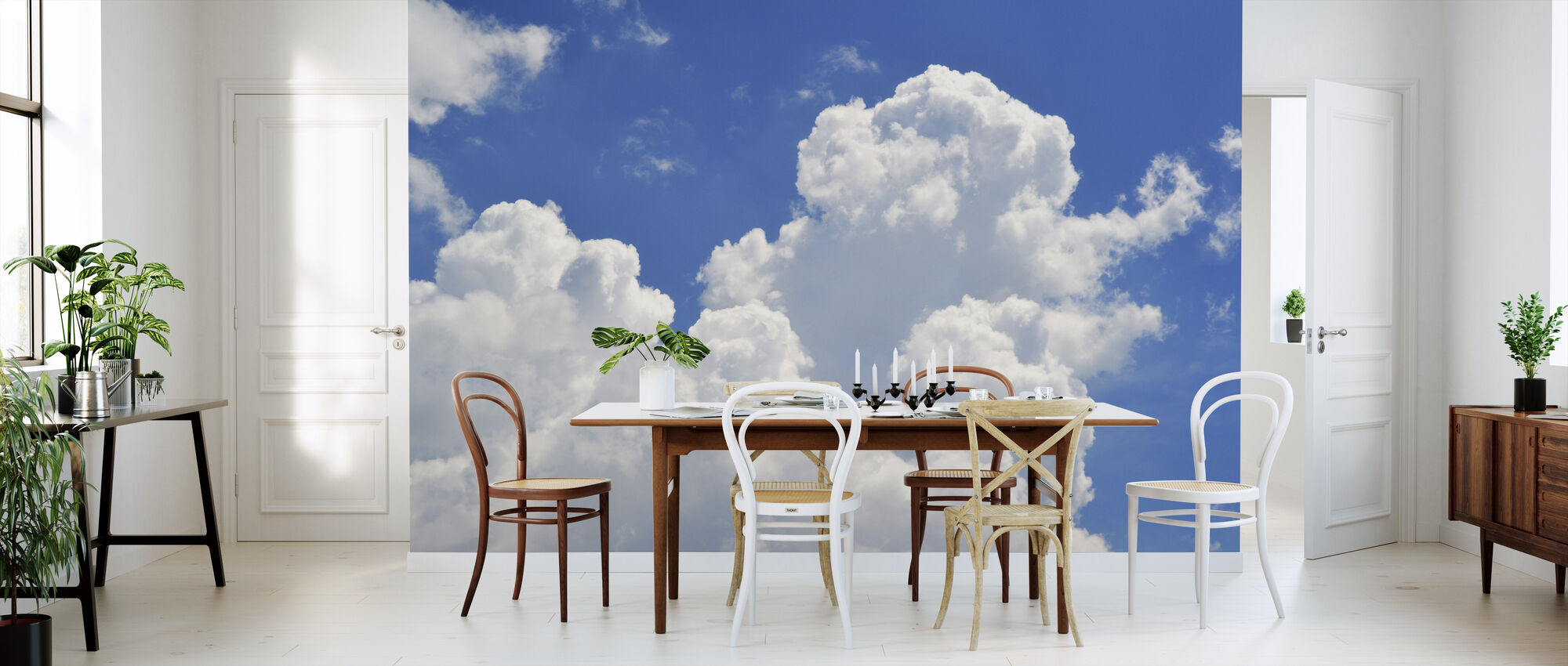 Clouds in the Sky - Wallpaper - Kitchen