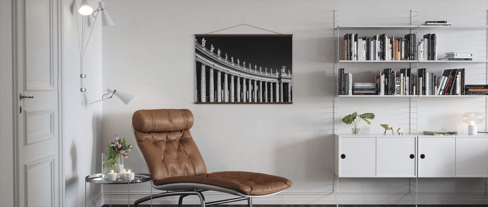Columnar Sculpture - Poster - Living Room