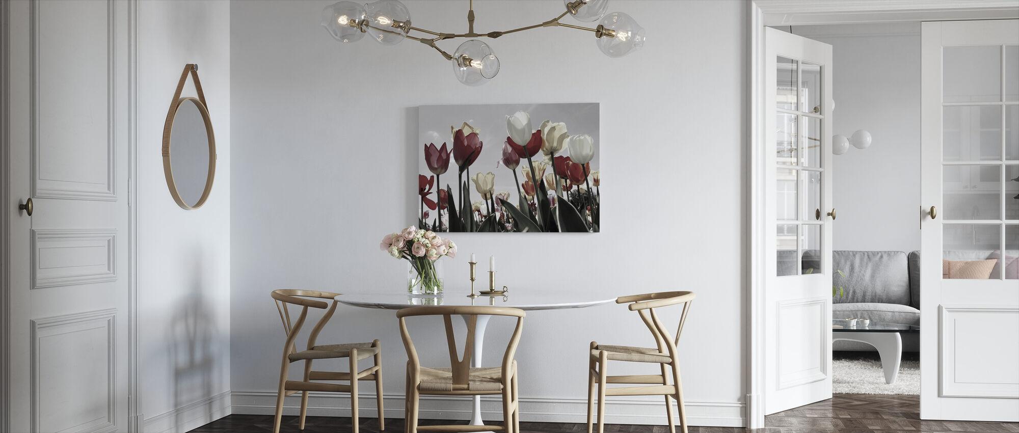Tulip Garden - Canvas print - Kitchen