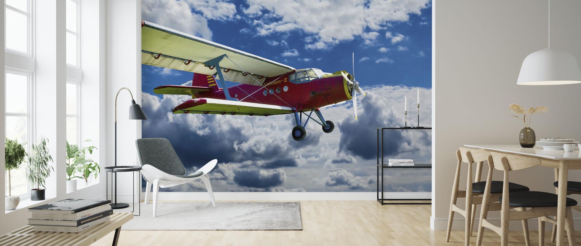 Vintage Antonov - Tapet - Vardagsrum
