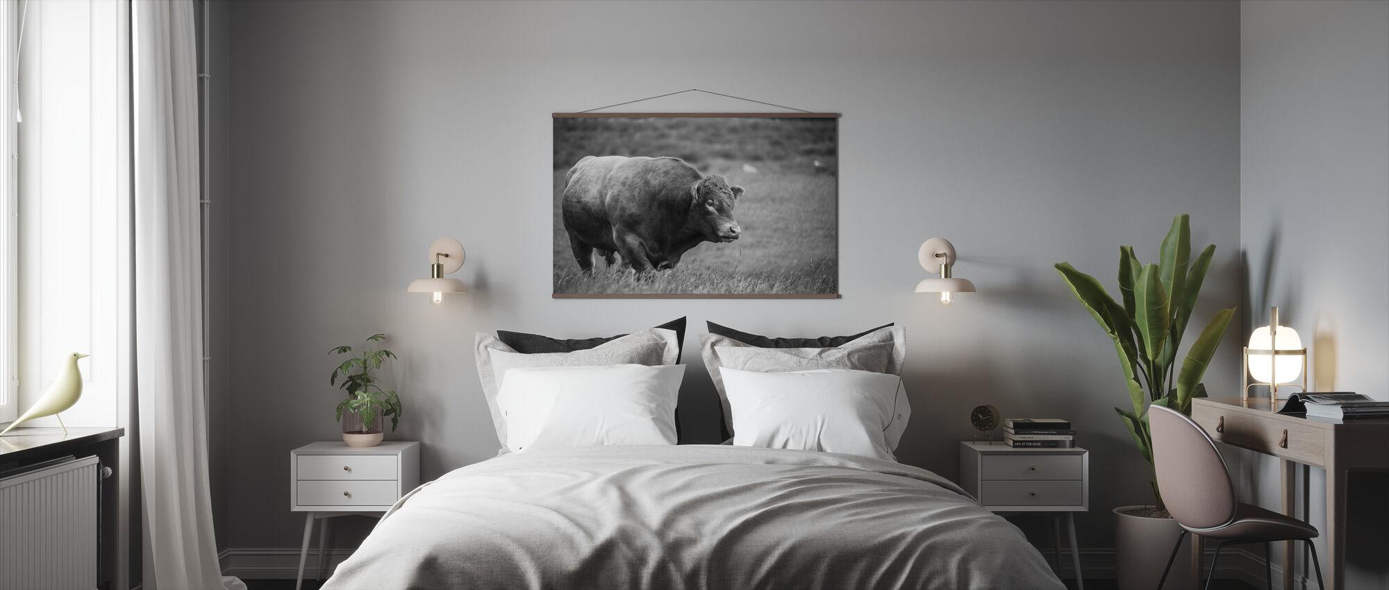 Härkä - Juliste - Makuuhuone