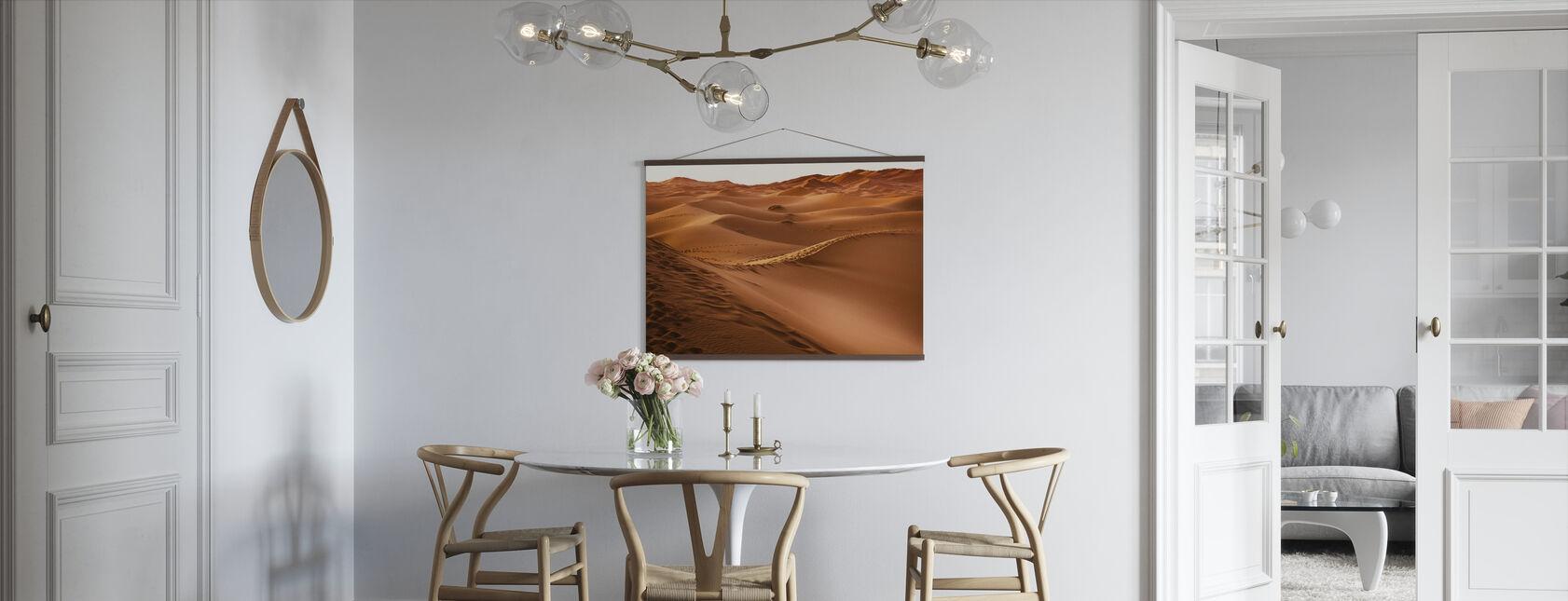 Desert Sand Fot Utskrifter - Poster - Kök