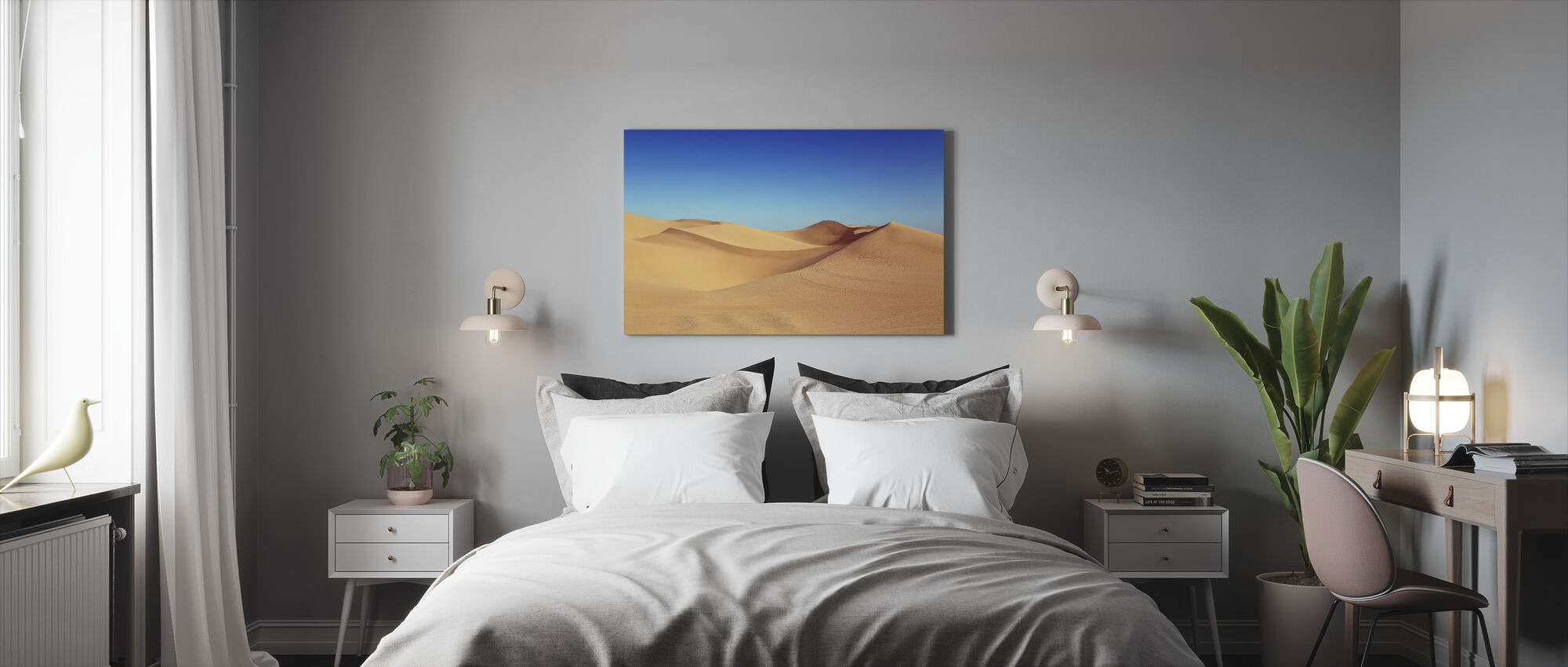 Desert Sand Dunes - Canvas print - Bedroom