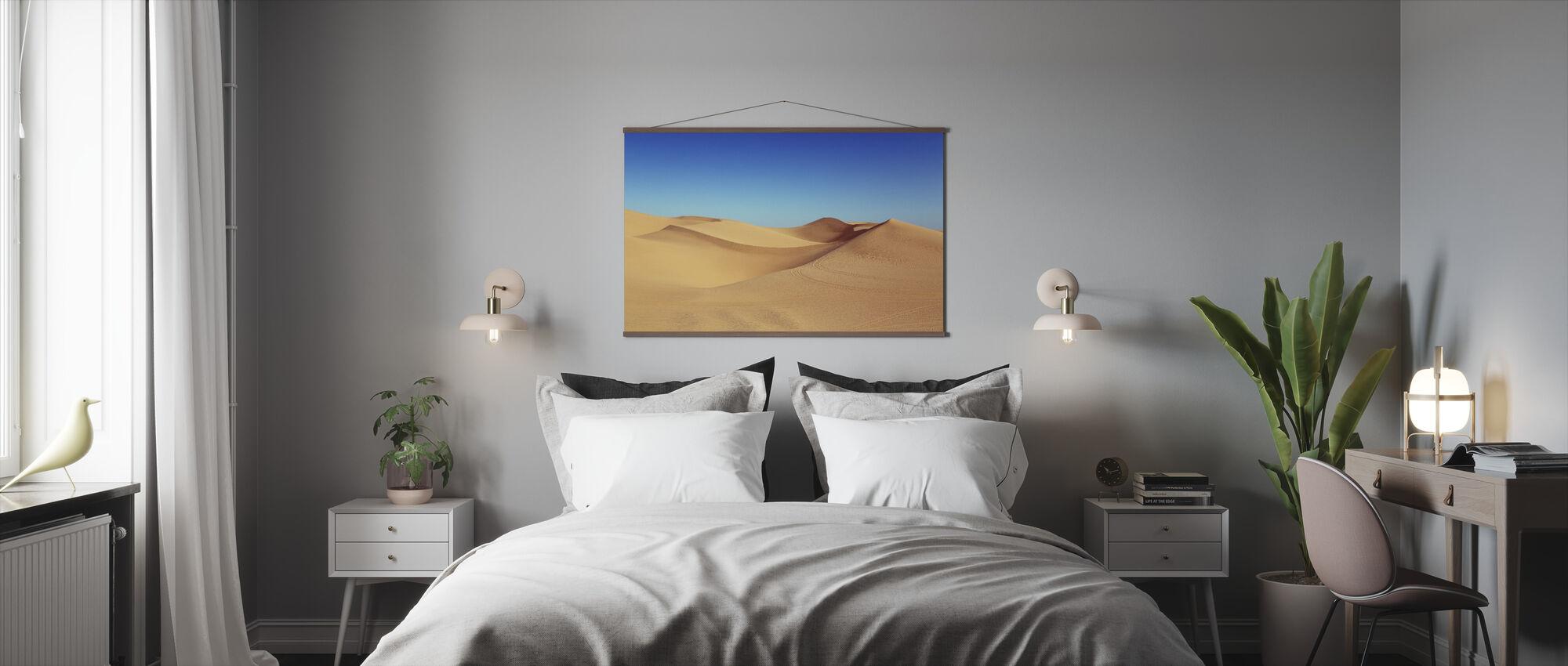 ørken sanddyner - Plakat - Soverom