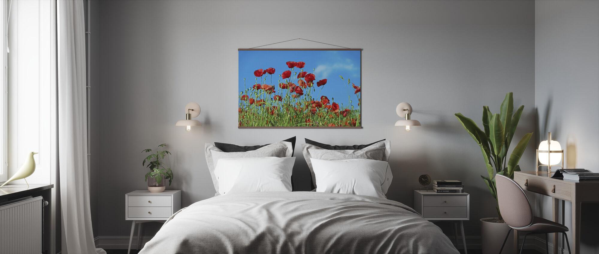 Field of Poppies - Poster - Bedroom