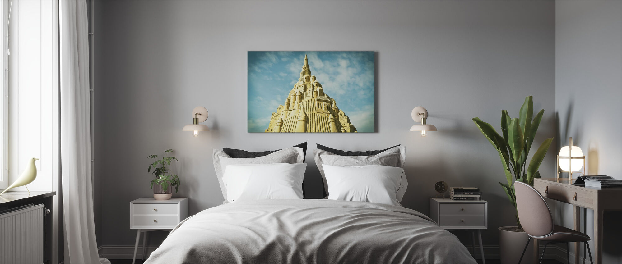 Sand Sculpture - Canvas print - Bedroom