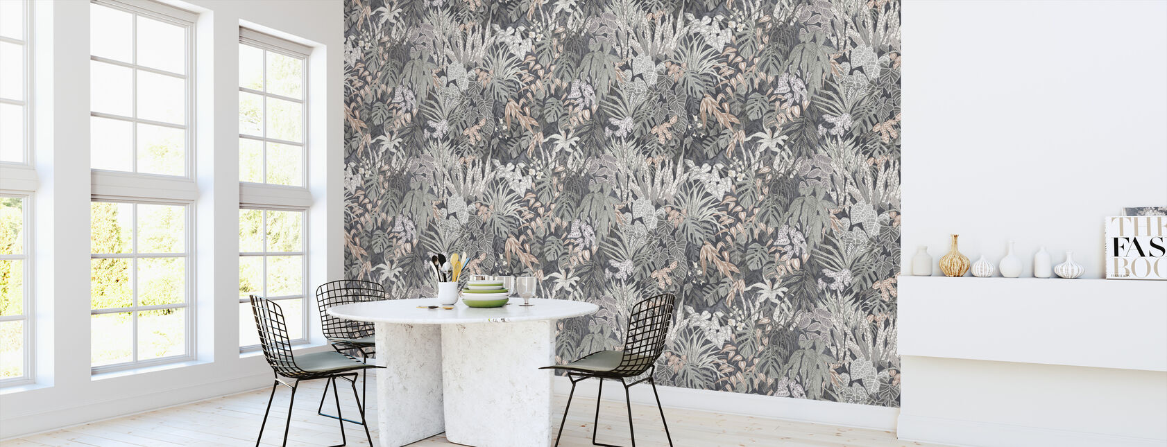 Tanglewood Forest Silver Ash - Wallpaper - Kitchen