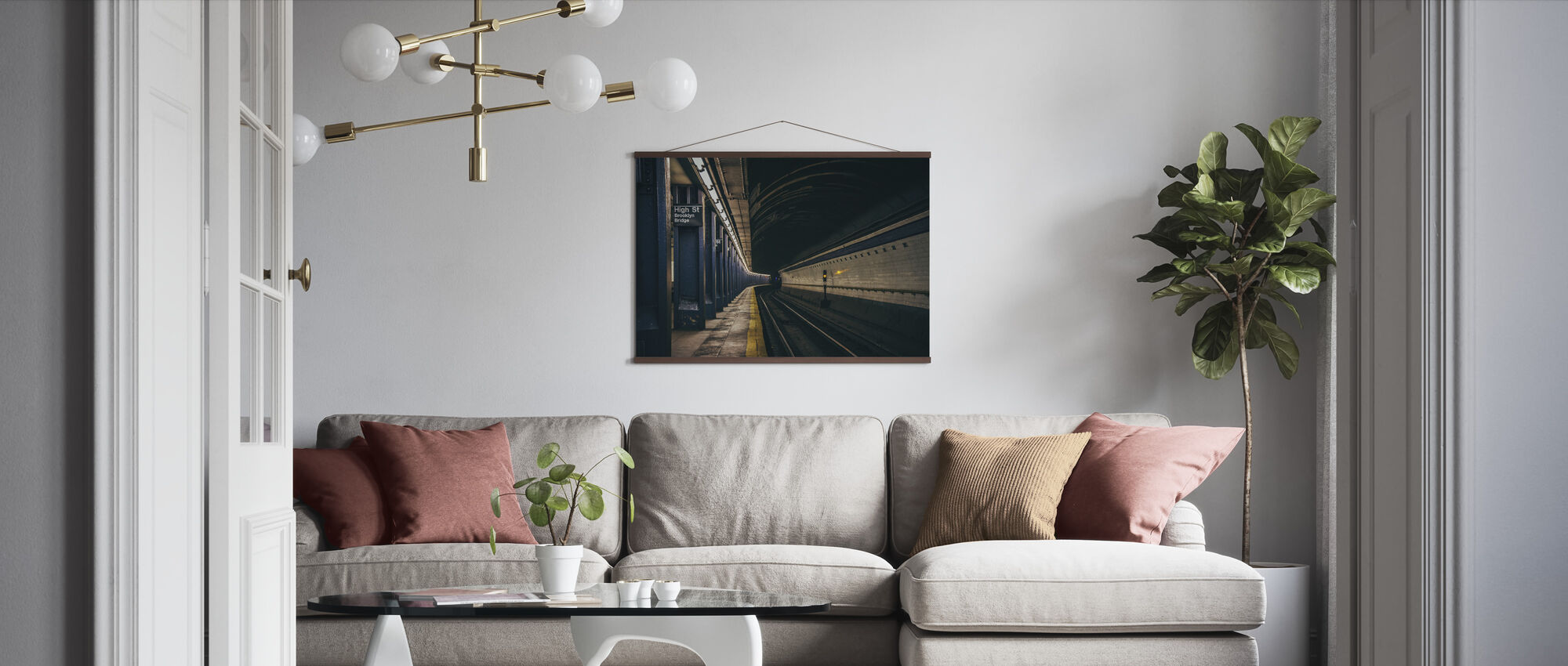 Underground Railway - Poster - Living Room
