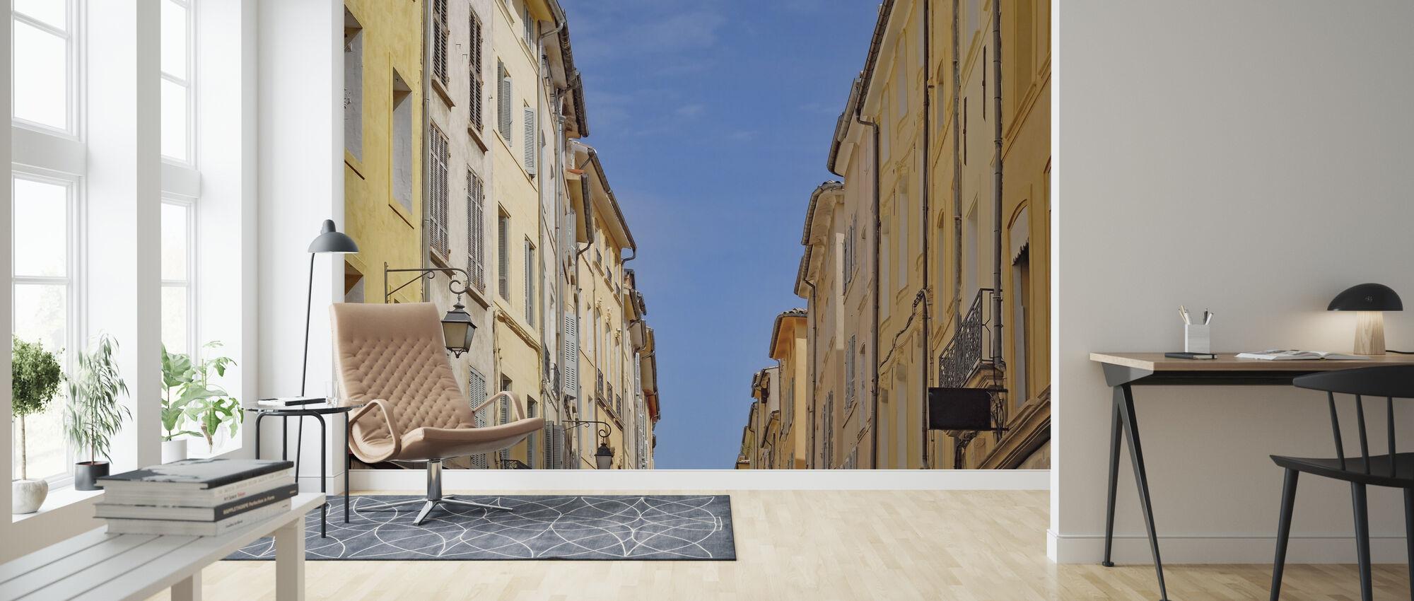 Street House - Wallpaper - Living Room