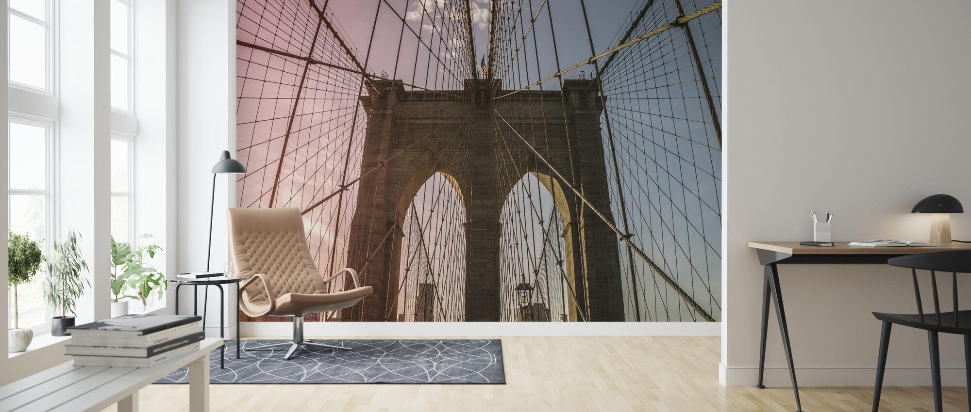 Brooklyn Bridge - Wallpaper - Living Room