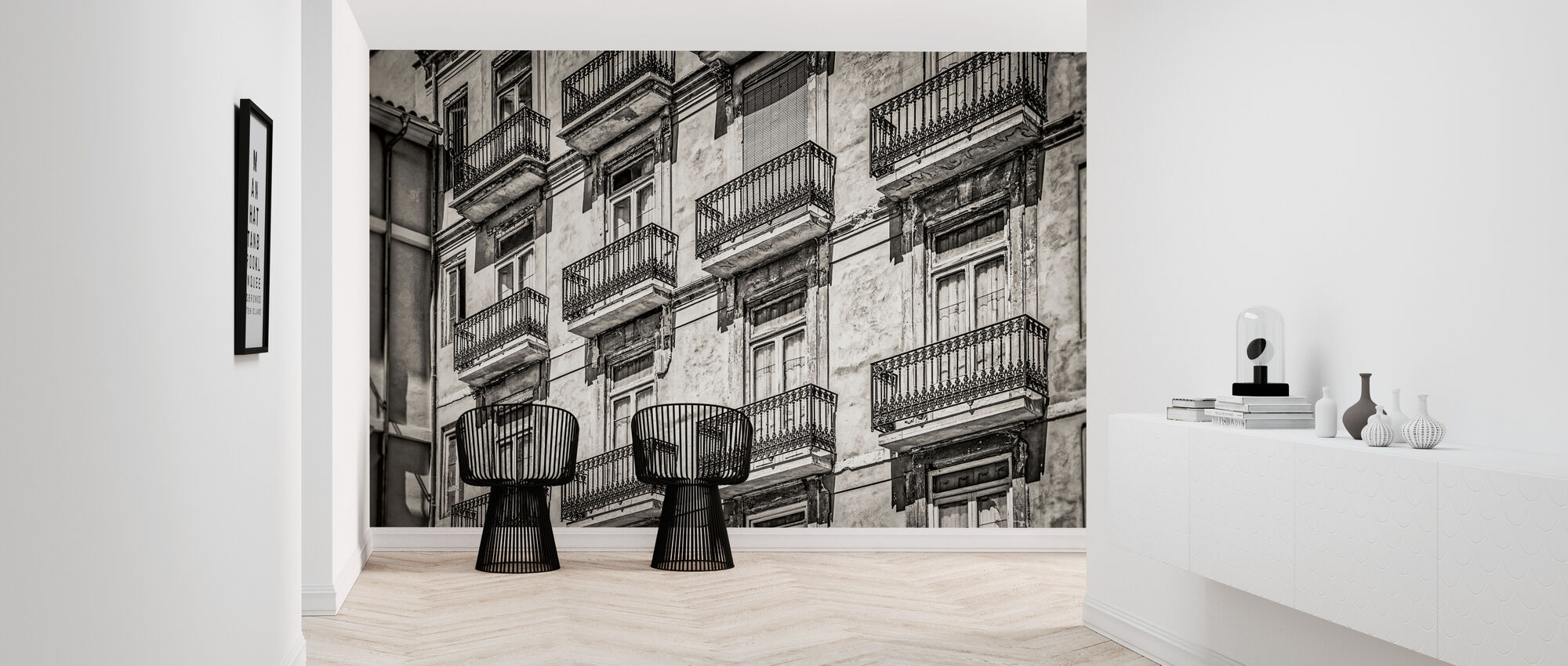 Balcony Facade - Wallpaper - Hallway