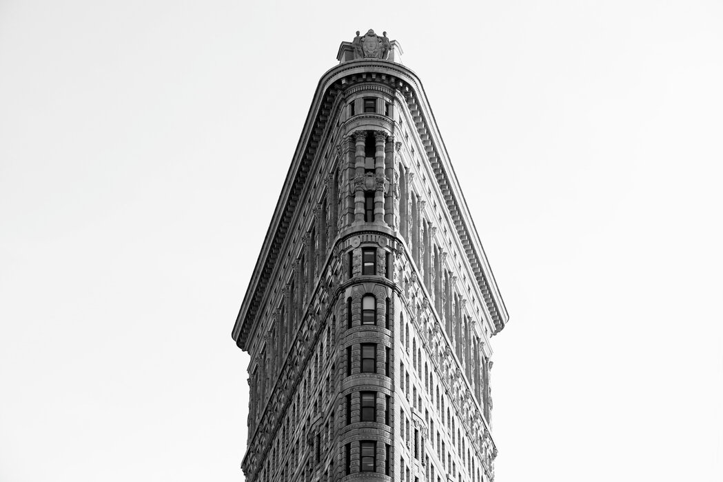 Historic Flatiron Building Affordable Wall Mural Photowall