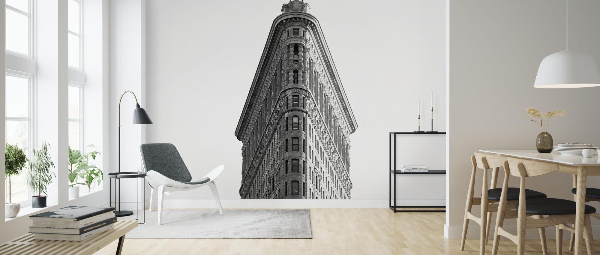 Historic Flatiron Building - Wallpaper - Living Room