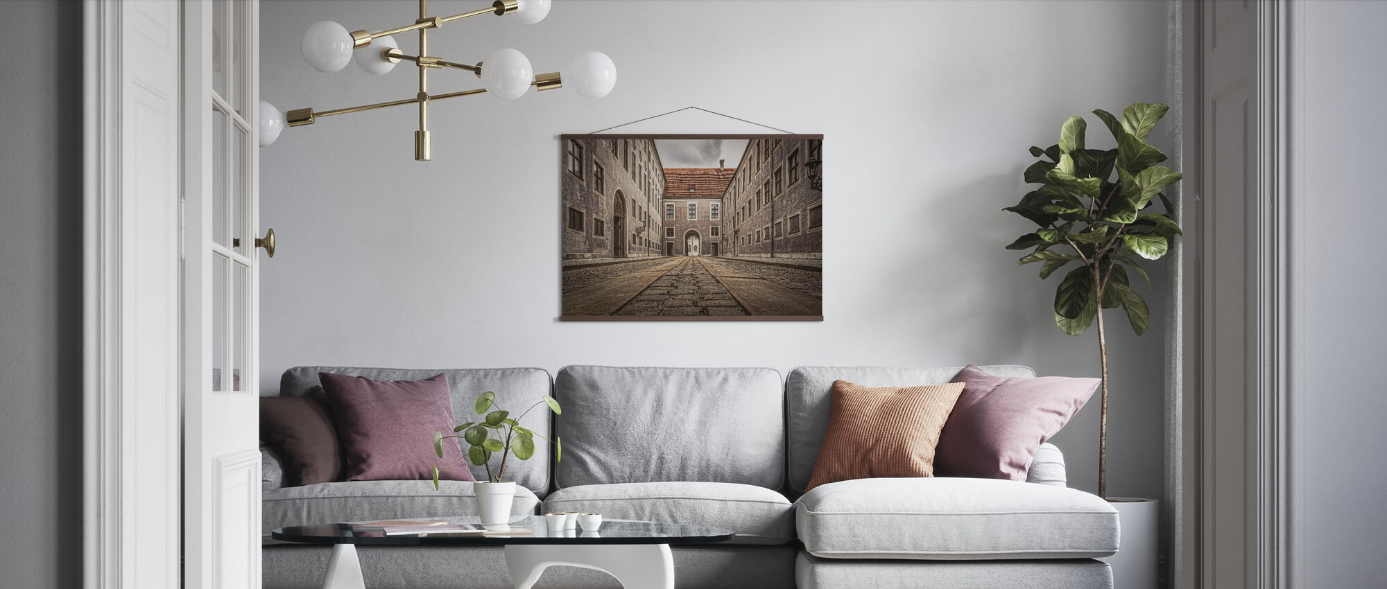 City Buildings - Poster - Living Room