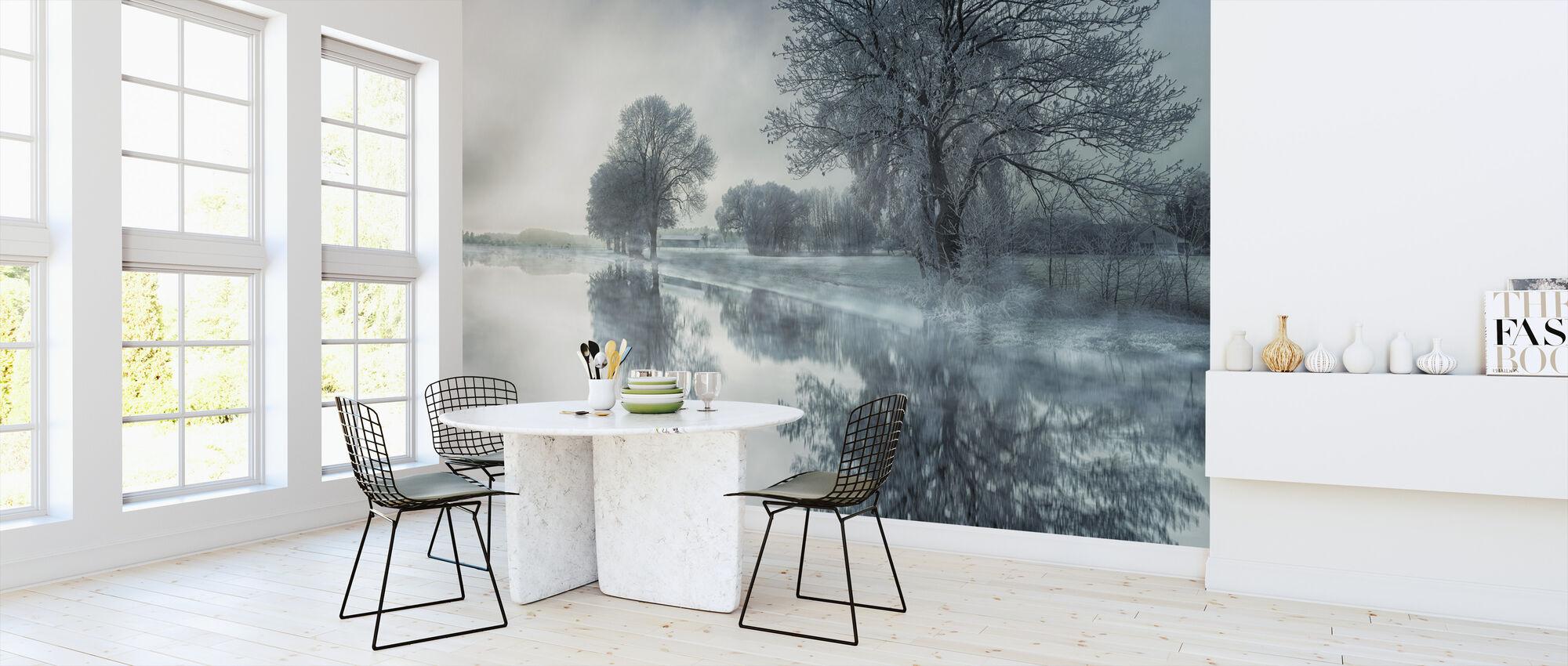 Speil innsjø - Tapet - Kjøkken