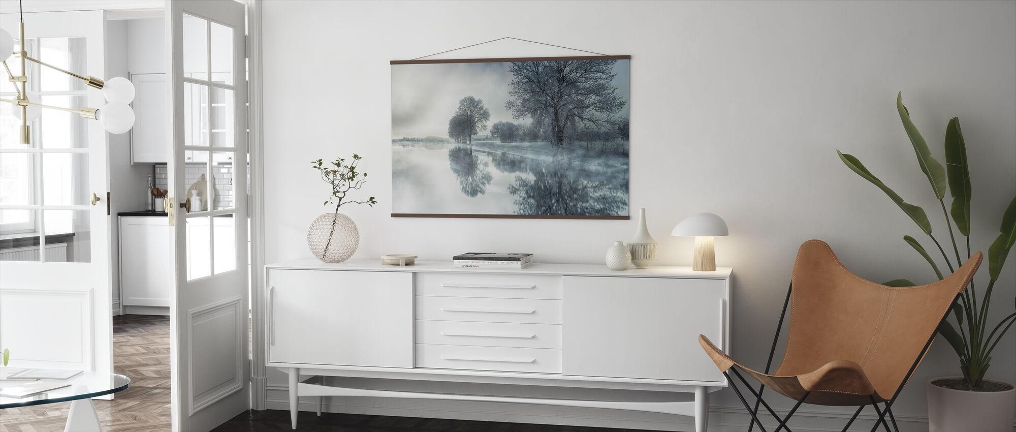 Mirror Lake - Poster - Living Room