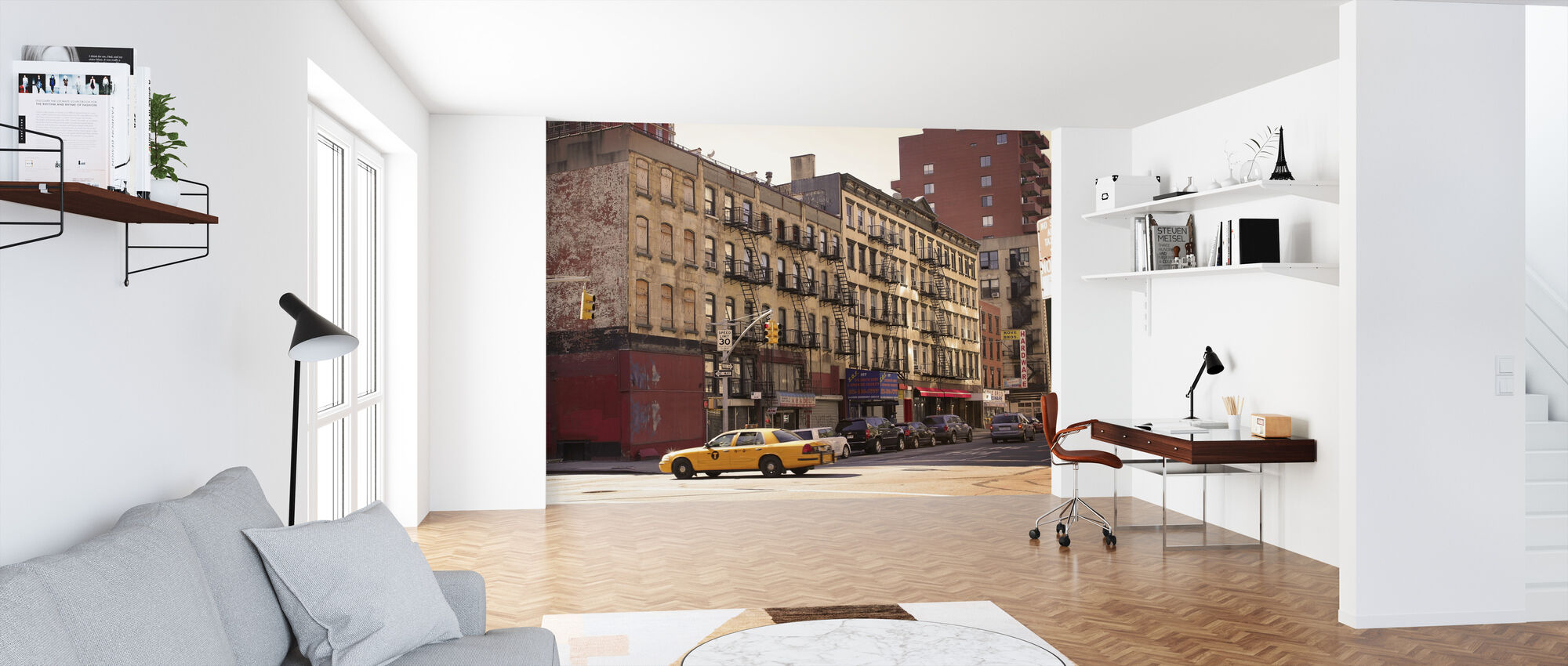 City Street Life A Wall Mural For Every Room Photowall