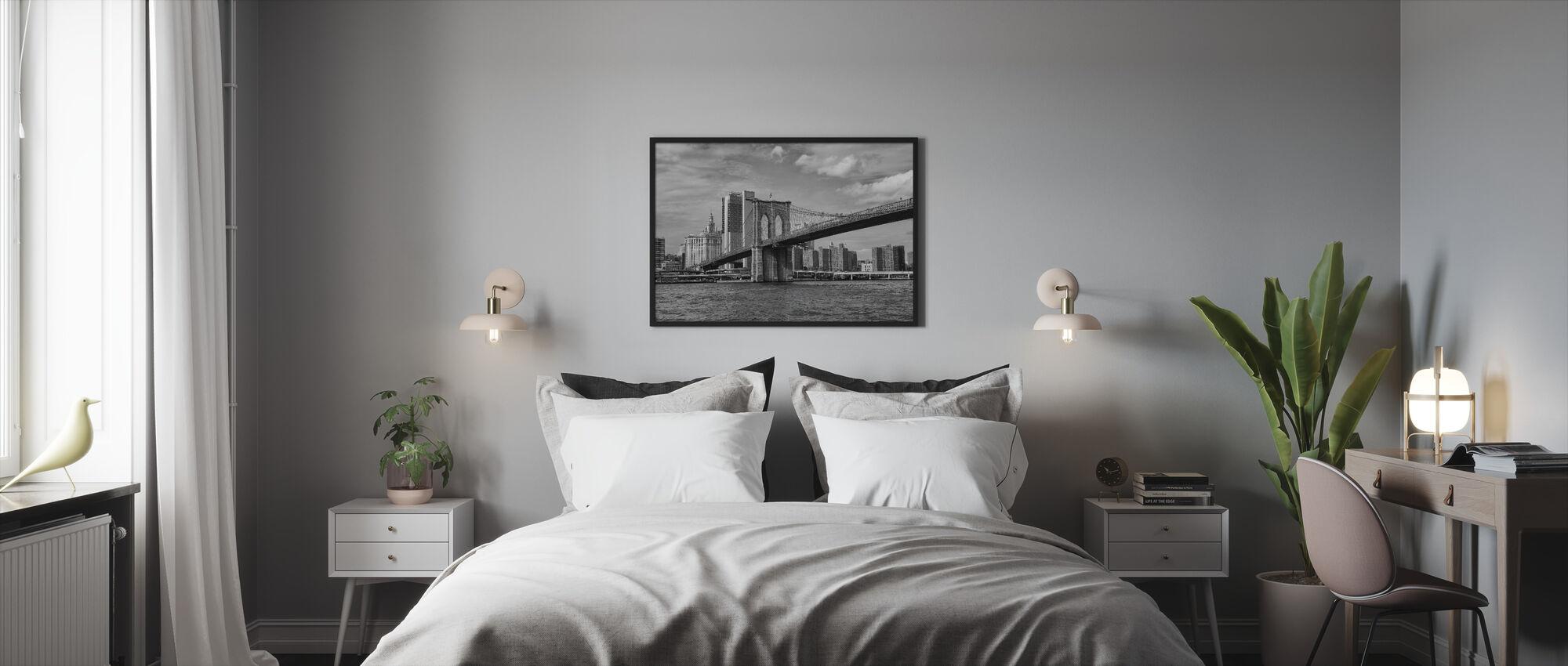 Bridge - Framed print - Bedroom