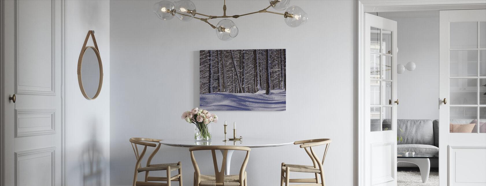 Frozen Woods - Canvas print - Kitchen
