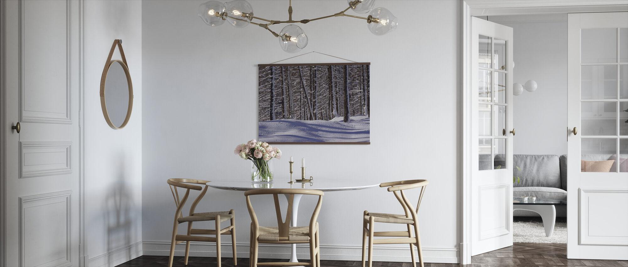 Frozen Woods - Poster - Kitchen
