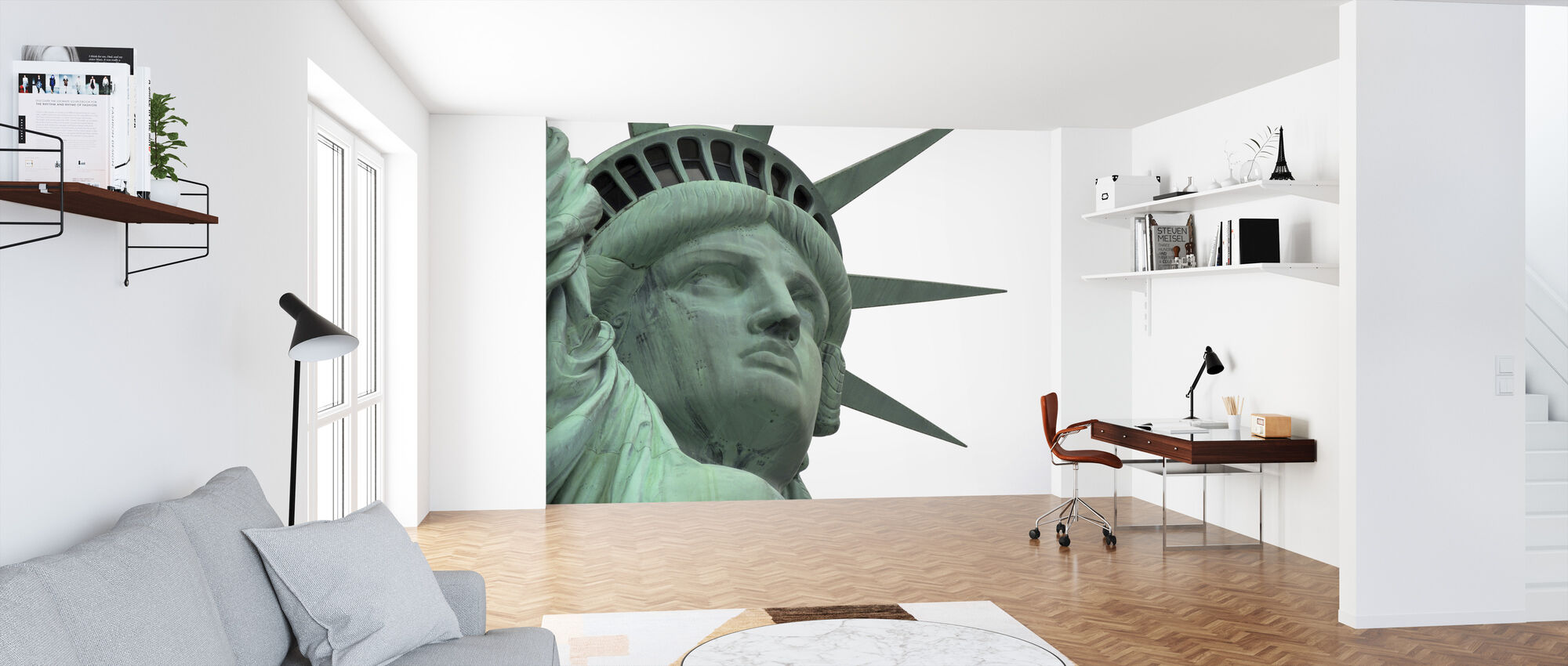 Close Up Statue of Liberty - Wallpaper - Office
