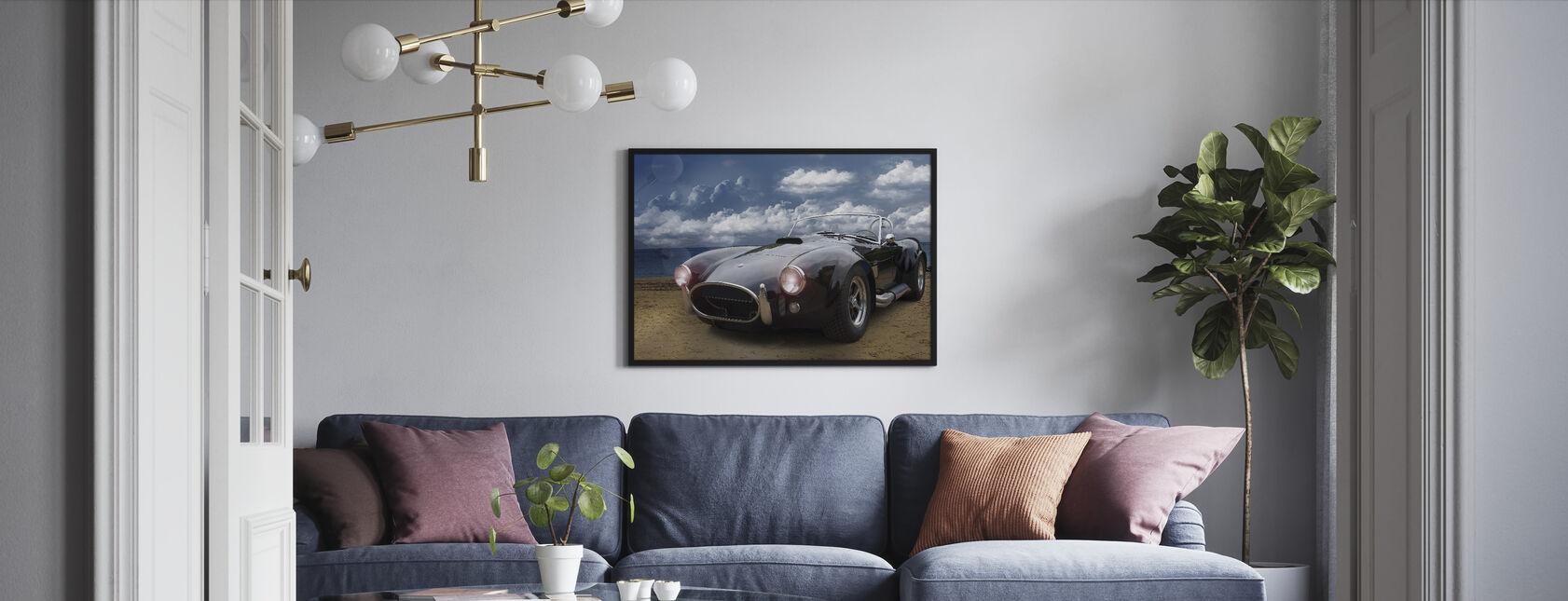 Klassisk Vintage Bil - Innrammet bilde - Stue