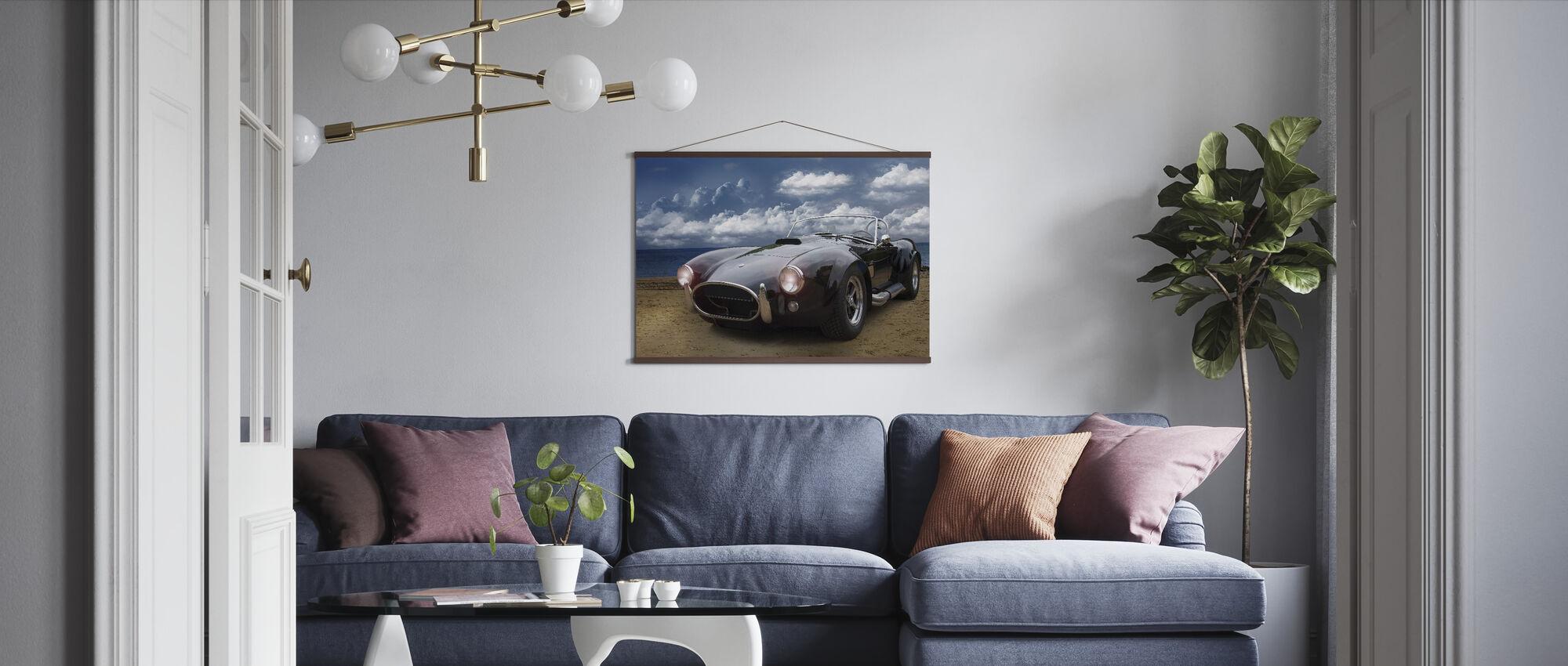 Klassisk Vintage Bil - Plakat - Stue